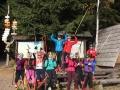 Trénink na kol. lyžích na Rovinkách